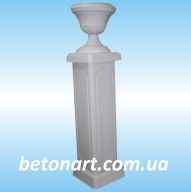Столб балюстрады с вазоном_29-31-32-68